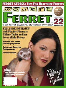 modern ferret magazine cover