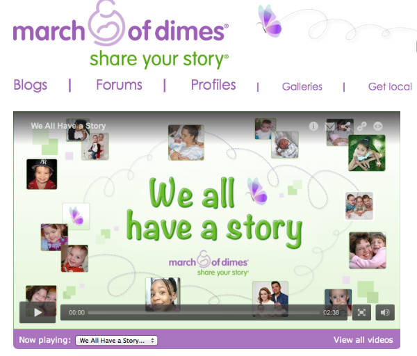 share your story-march of dimes