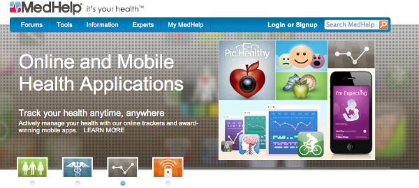 applications page-medhelp
