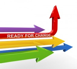ready for change-colored arrows