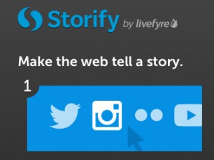 storify logo-make web tell story