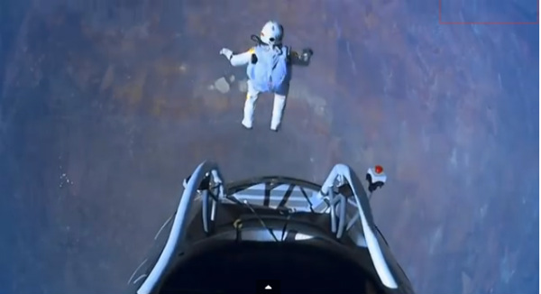 image of sky jump-free fall