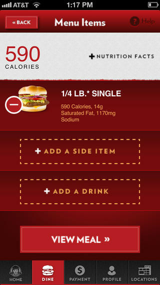wendy's-nutrition facts