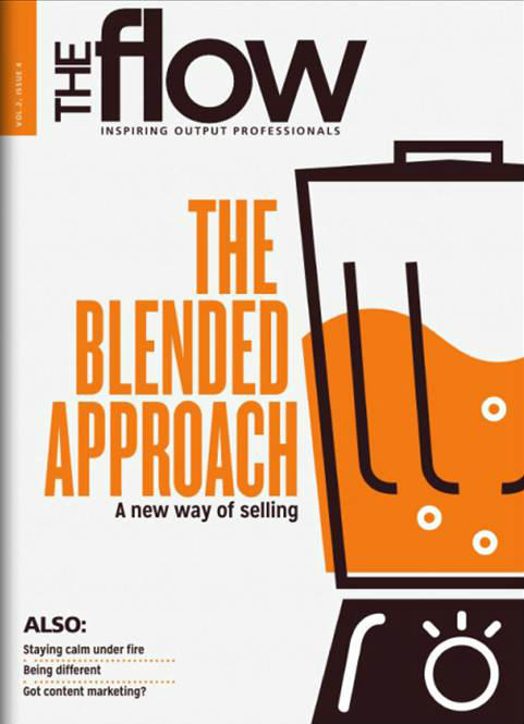 blender image-the flow magazine cover
