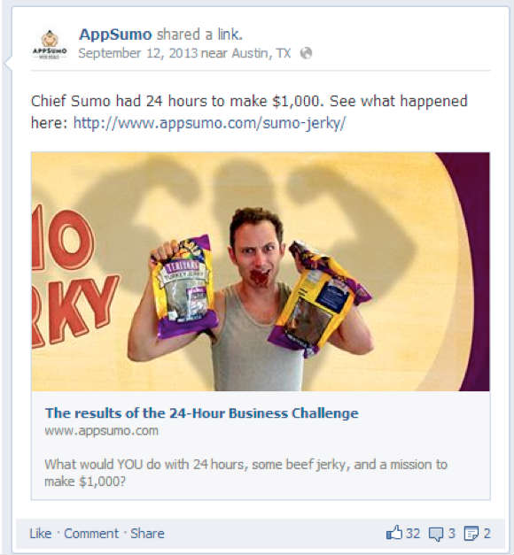 appsumo-facebook-ad