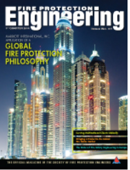 magazine cover-fire protection engineering