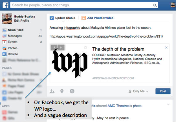 wp logo-facebook sharing