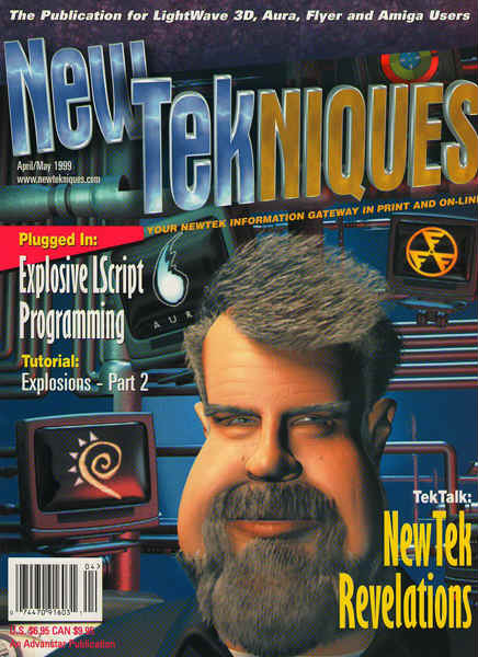 magazine cover-new tekniques
