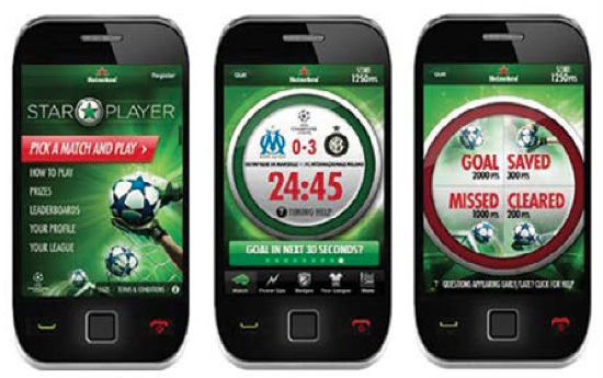 smartphones-soccer game activities