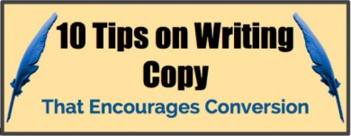 quill pens-title on writing copy