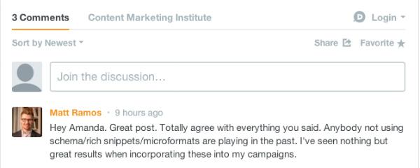 comment management example-cmi