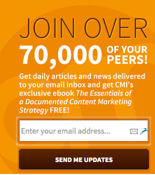 join over 70,000 peers-cmi subscribe box