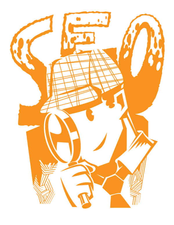 seo drawing-detective-magnifying glass