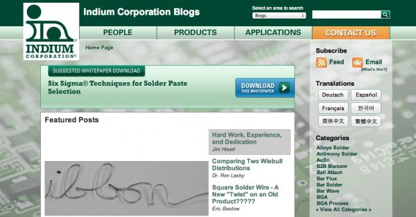 Indium Blog