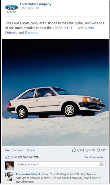 white car-ford escort