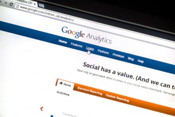 screen shot-google analytics