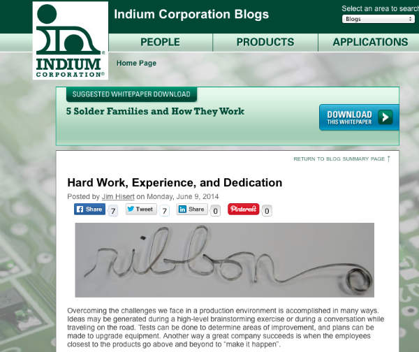 example-indium blog post