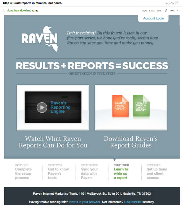 raven reports series