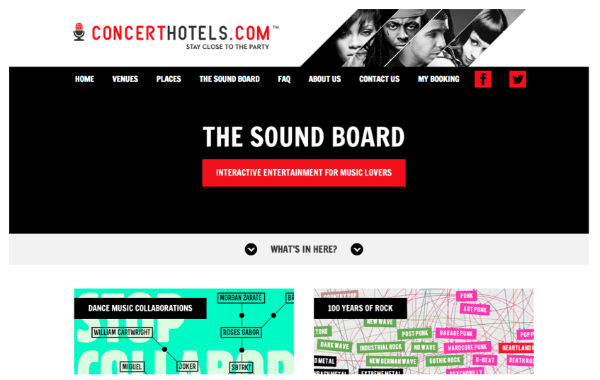 concerthotels.com example