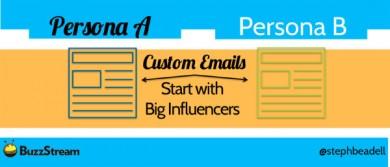 buzzstream example-custom emails