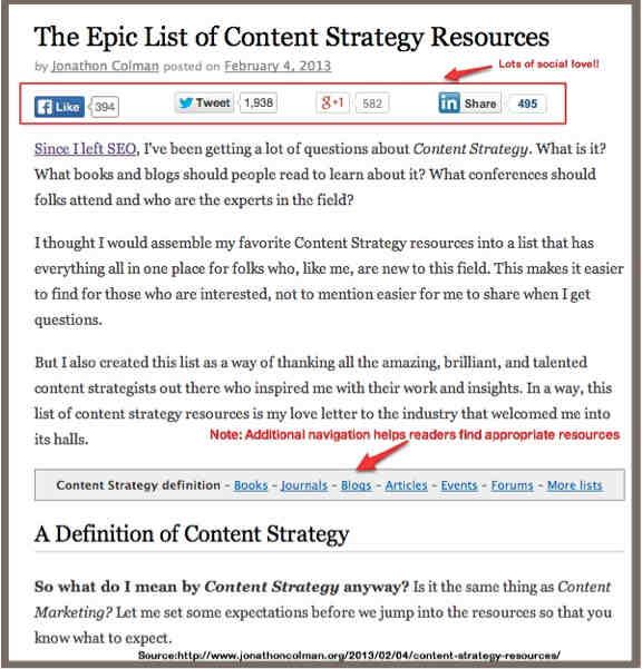 epic list-post example