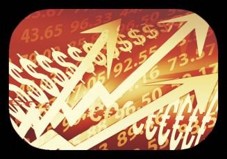 sepia image-arrows-dollar signs