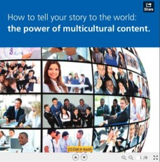globe with people-multicultural content