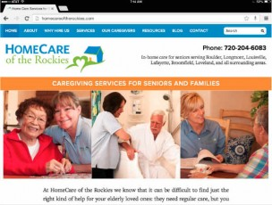 homecare of the rockies-horizontal tablet example
