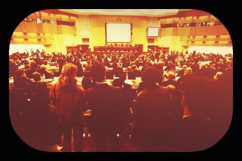 crowd-presentation room
