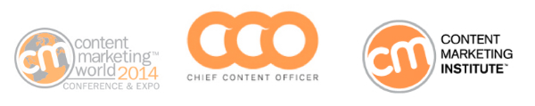 cmi-cco-content marketing world logos