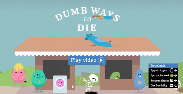little cartoon figures-dumb ways