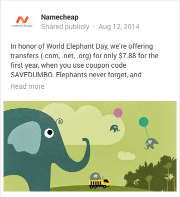 elephant images-namecheap