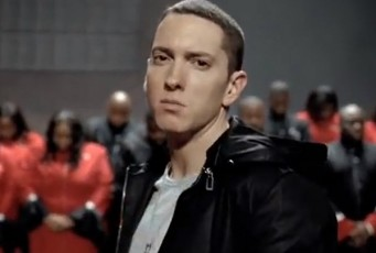 image of eminem looking tough