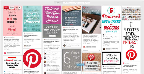 example-website results-pinterest
