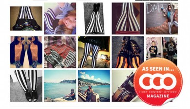 photo collection-people in striped tights