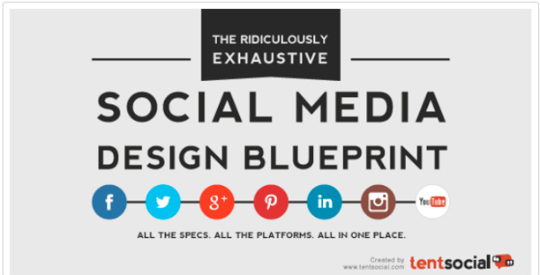 infographic-social media design blueprint