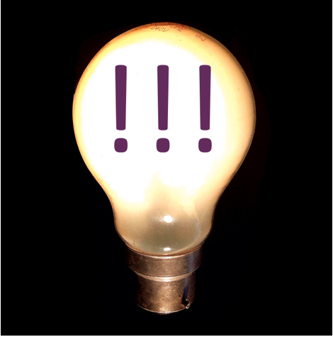 lightbulb-exclamation points