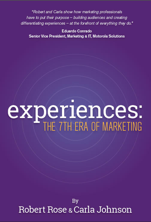 book cover-experiences