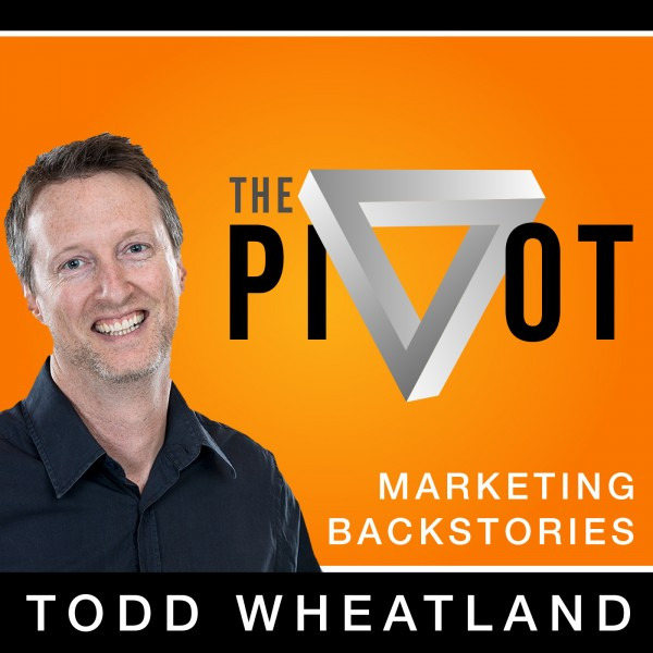 The Pivot - Marketing Backstories Logo