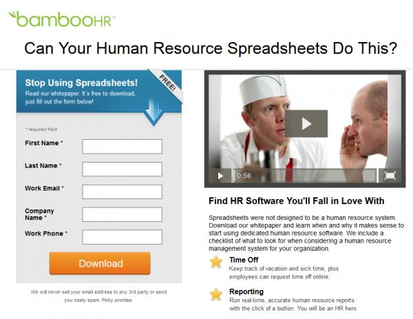 Bamboo HR Screenshot