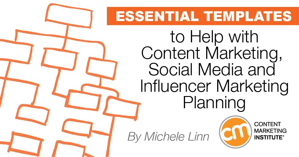 Key templates for content marketing social media influencer planning cmitemplatescontentmarketingsocialmediainfluencercover pronofoot35fo Images