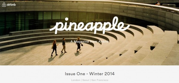 Airbnb Pineapple Content Magazine image 2