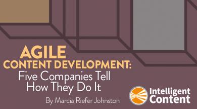 Agile-content-development-intelligent-content