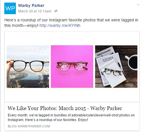 warby-parker-facebook-example