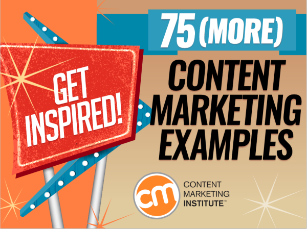 75 examples to spark your content marketing creativity