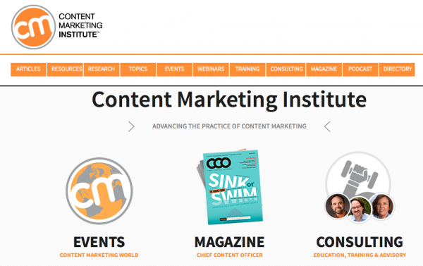 CMI content diversification