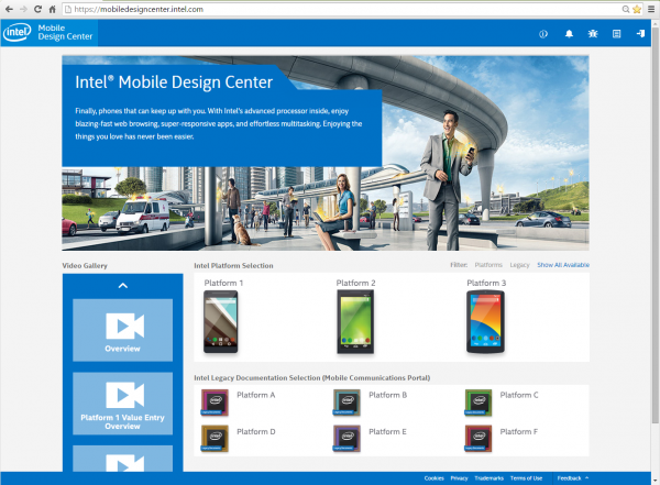 Intel-portal-intelligent-content