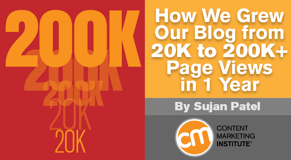 How We Grew Our Blog from 20K to 200K+ Page Views in 1 Year