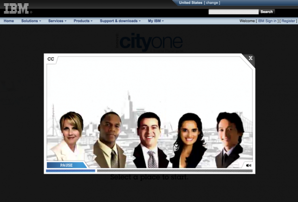 IBM-CityOne Game-example-image 5