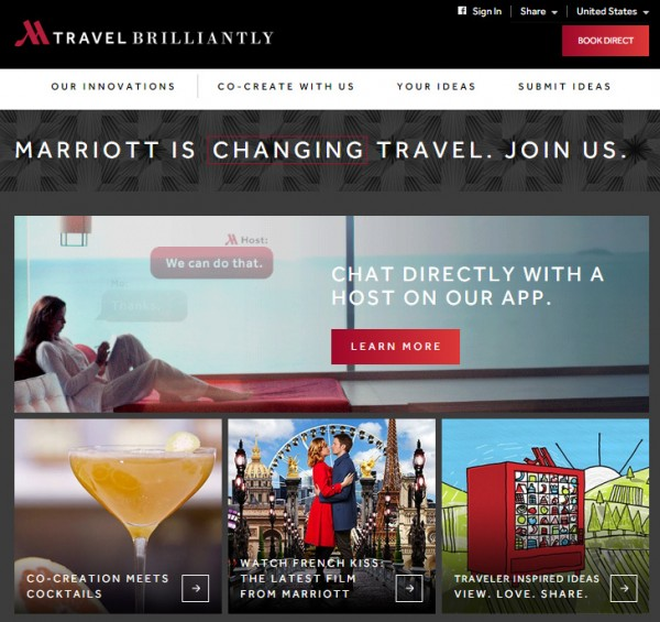 Marriott-Travel Brilliantly-example